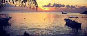 Roatan Real Estate Sunset